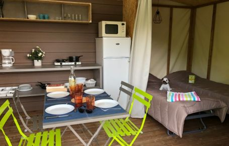 Dormir à 4 dans un logement atypique confortable en Dordogne