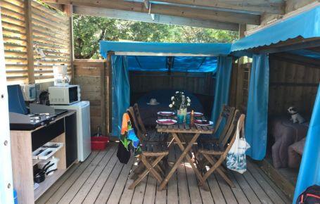 Dormir en bungalow au bord de la rivière